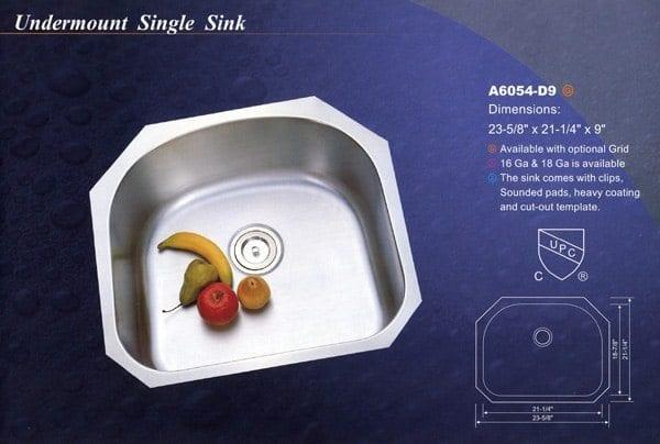 Undermount Single Sink